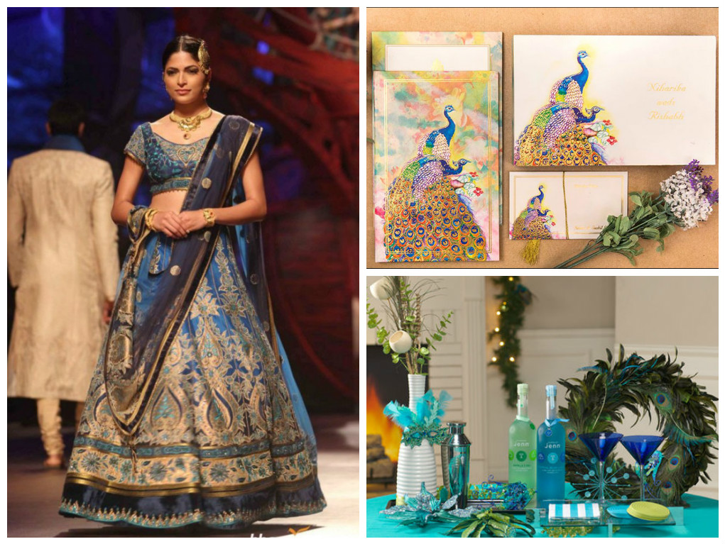 How to Plan a Peacock – Themed Indian Wedding?