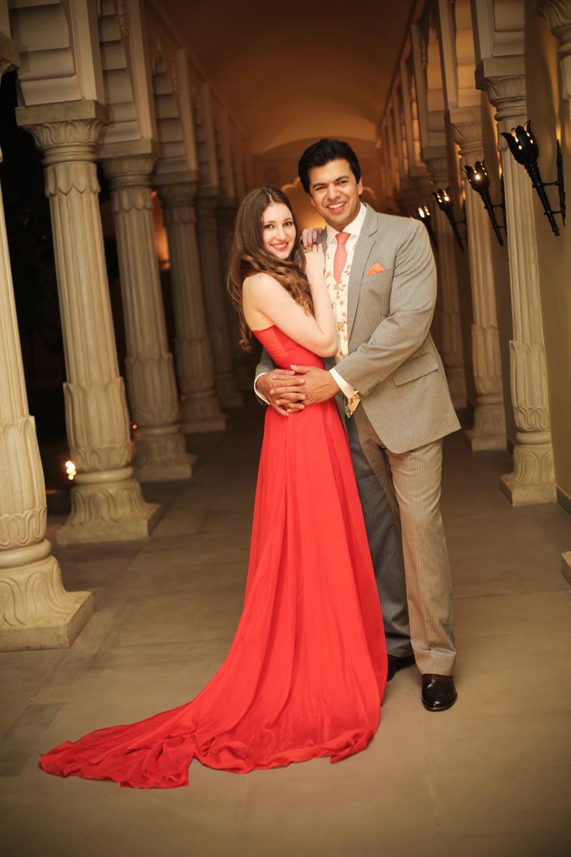 Katia and Nimai's Exquisite Destination Wedding held at Fairmont, Jaipur