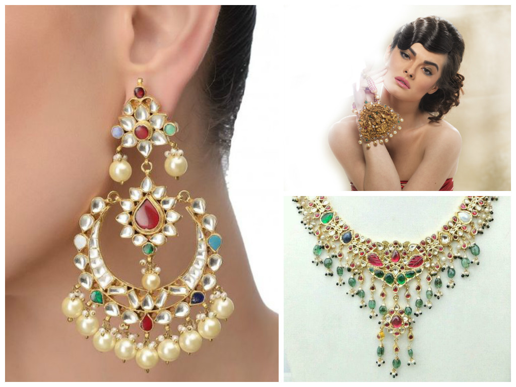 Navratna Lookbook: All You Need to Know about 9-Gemstone Bridal Jewellery!