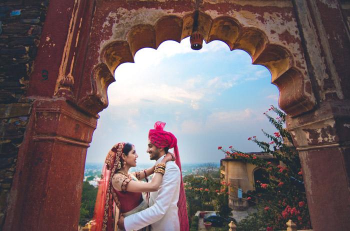 Neil and Priyanka's Gorgeous Destination Wedding at Neemrana Fort Palace, Jaipur