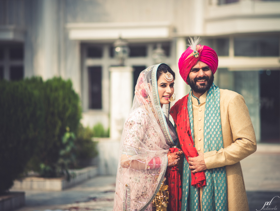 Punjabi Wedding with an Old-World Charm held at India Habitat Centre, New Delhi