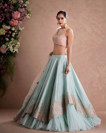 Top Bridal Lehenga Colours that are Totally In for 2017!