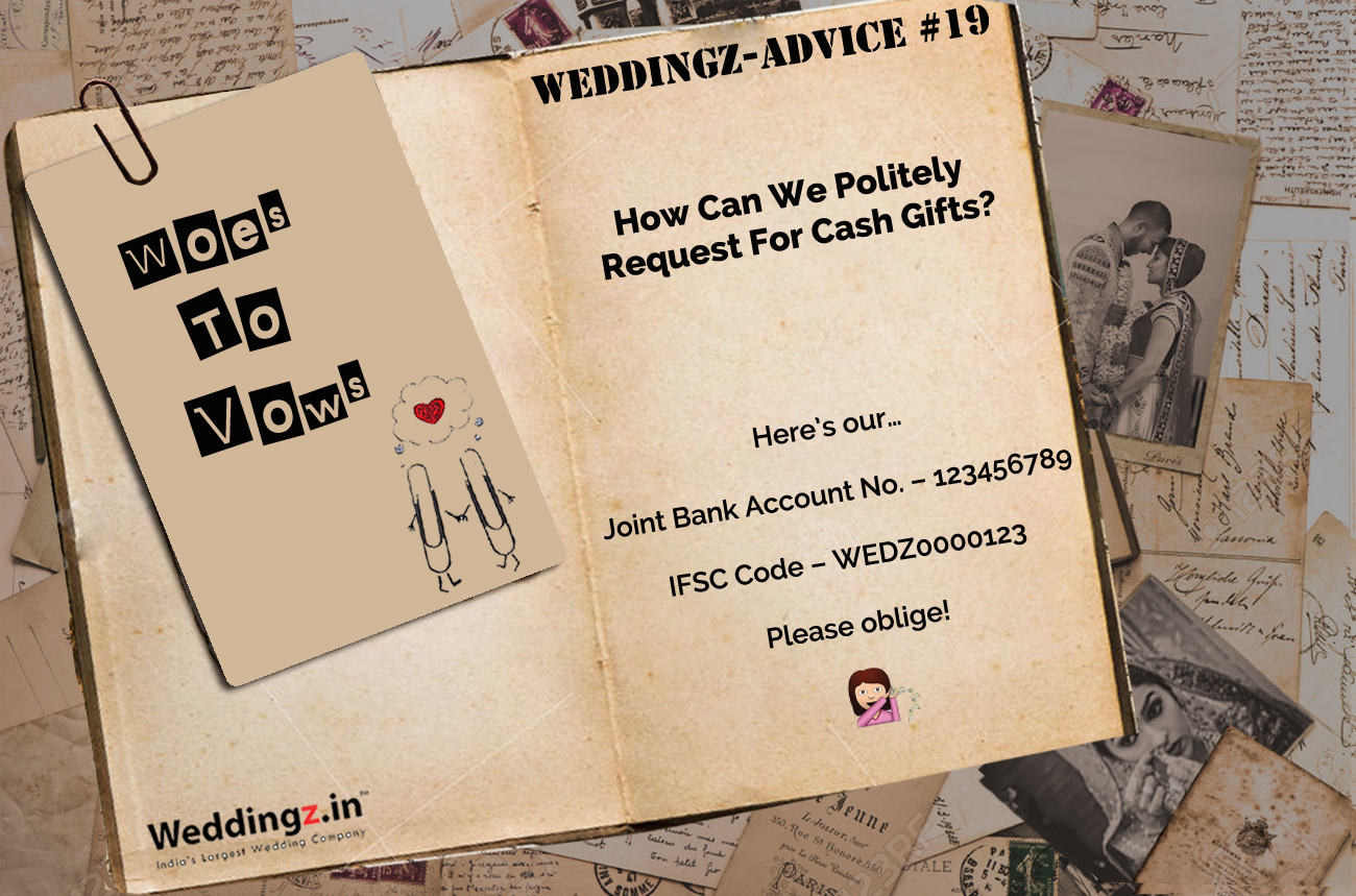 Ways To Politely Ask For Cash As A Wedding Gift €� Weddingz Advice #19 Ways