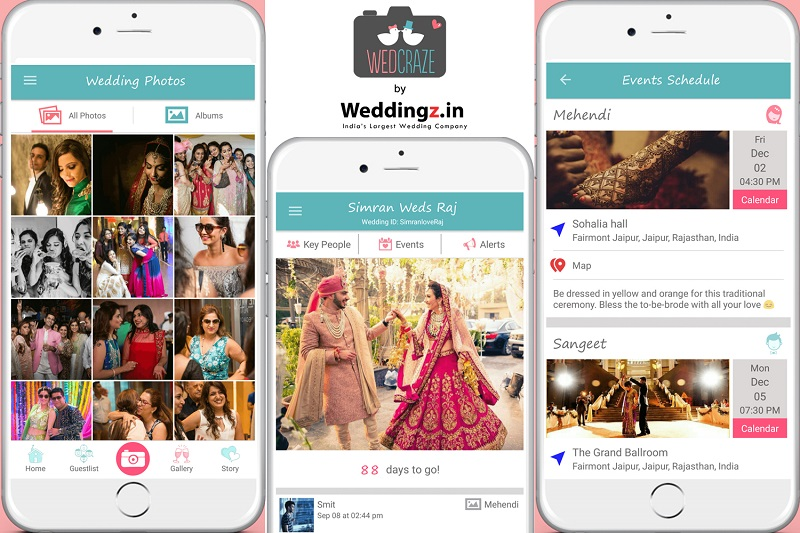 WedCraze - Your New & Exciting Wedding Planning and Social App