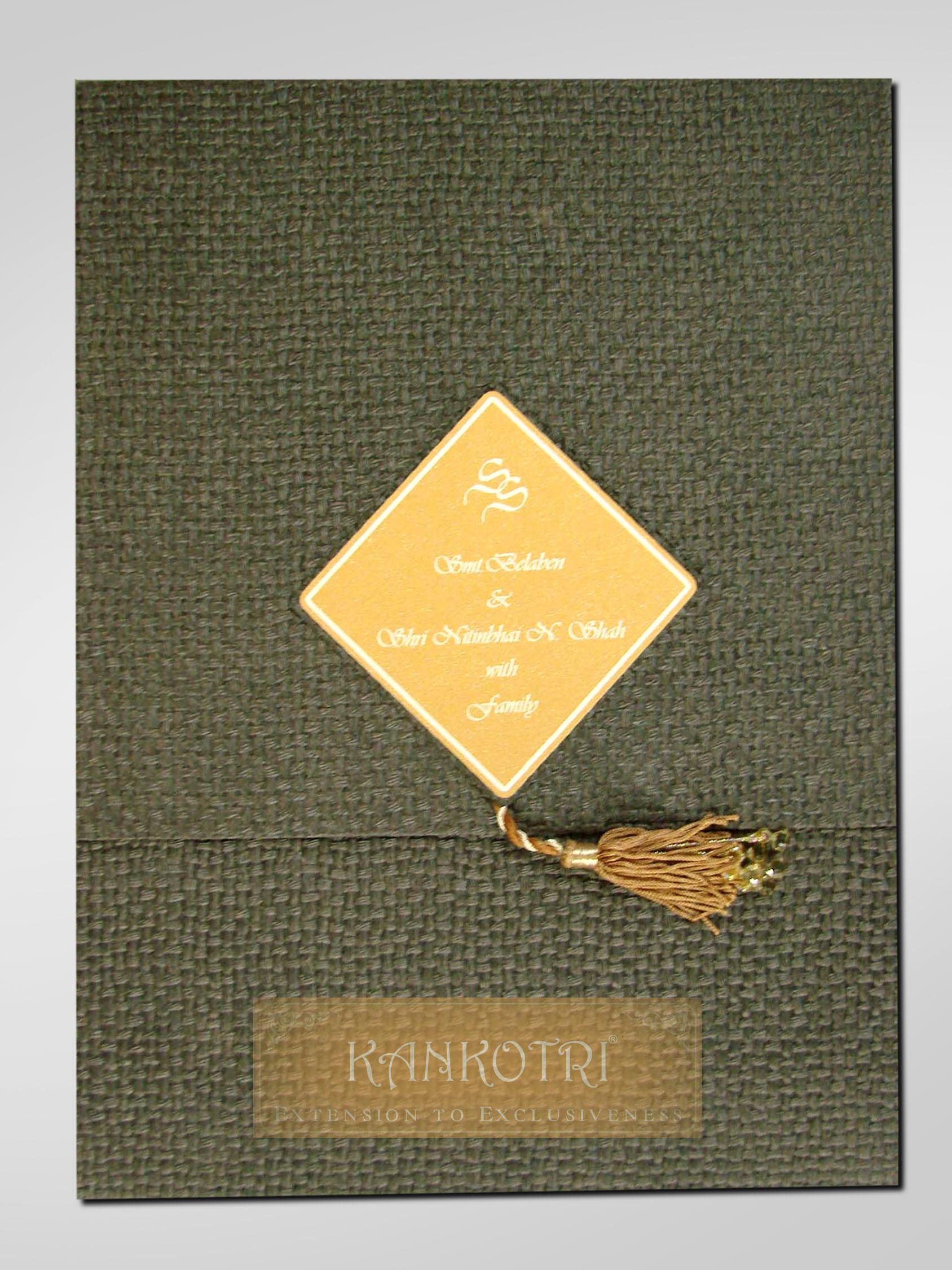 Wedding Invitation Cards Designs With Price In Delhi : KANKOTRI INVITES, Wedding Invitation Card in Mumbai WeddingZ