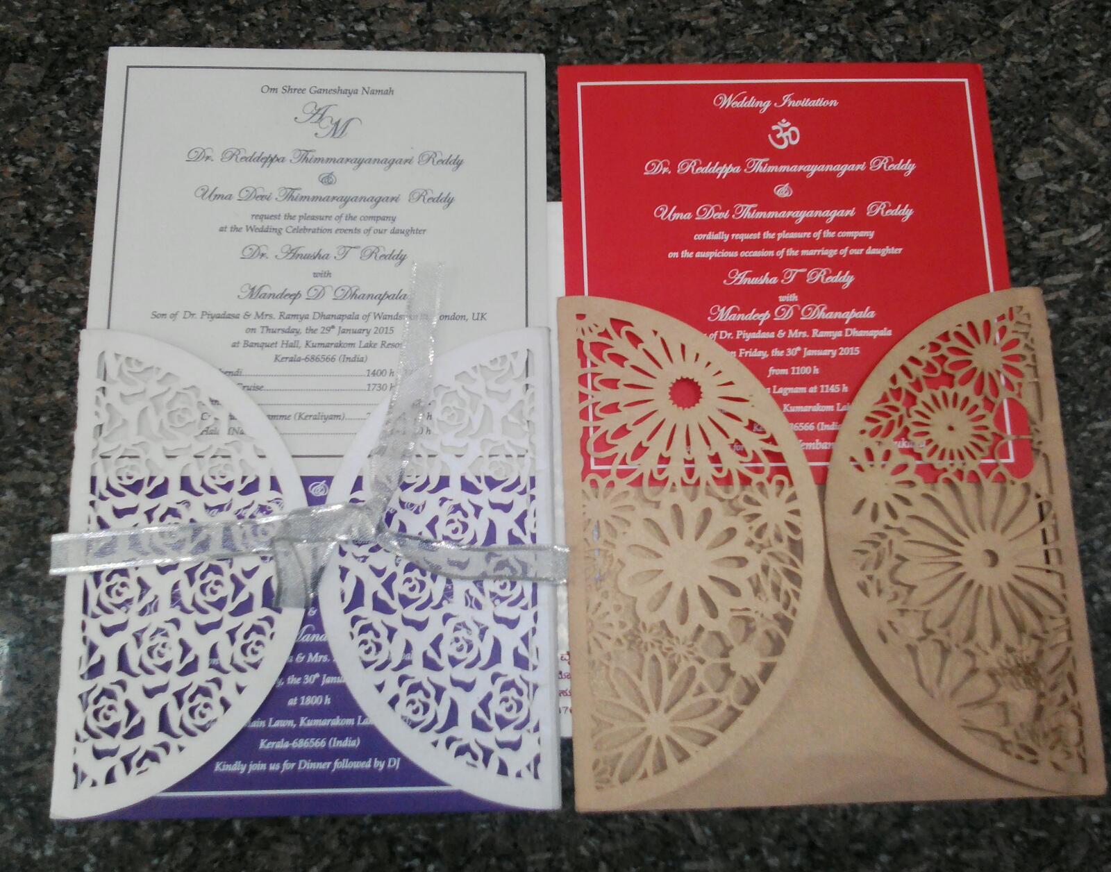 muslim wedding invitation cards in bangalore - 28 images - wedding ...