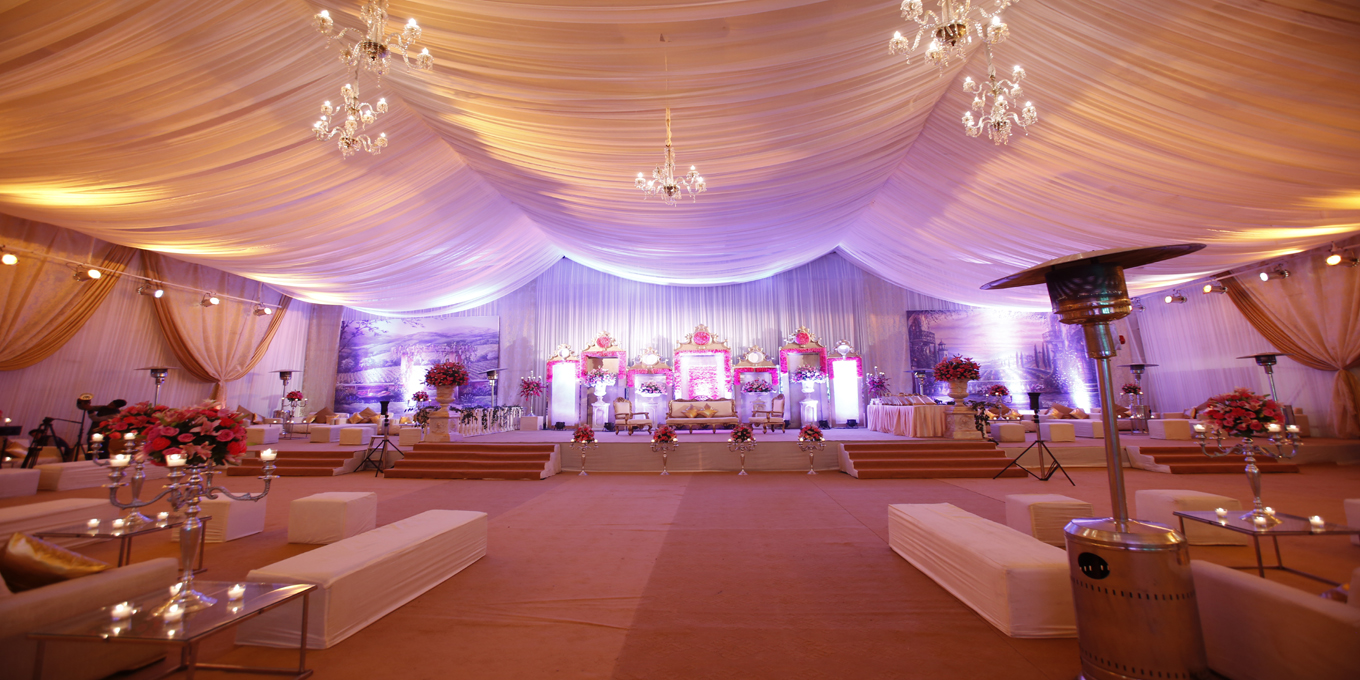 Rama tent house wedding decorator in delhi weddingz for Tent a house