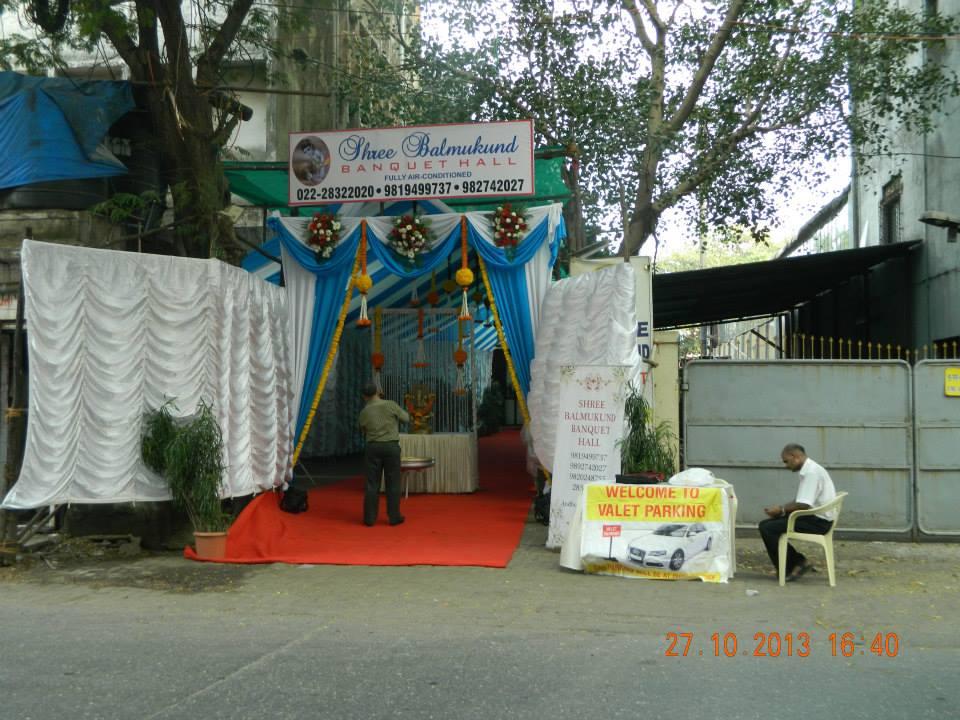 Shree Balmukund Banquet Hall Andheri East  Mumbai