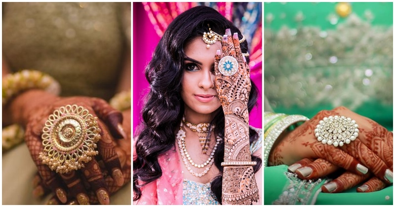 15 brides who effortlessly pulled off over-sized rings and rocked their bridal looks!