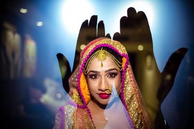Unique Bridal photography by Studio-ANK.