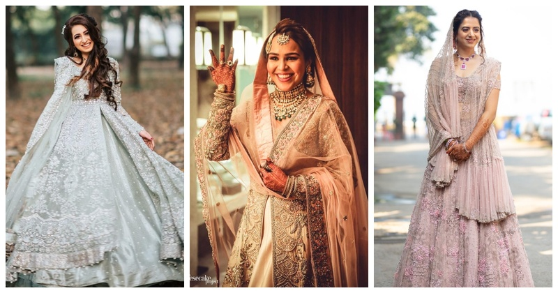 10 Muslim Brides who Rocked their Wedding Outfits!