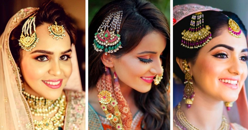 The best Jhoomar and Paasa designs spotted on brides! #trendalert