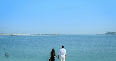 Beautiful pre wedding shoot of Ayush and Megha