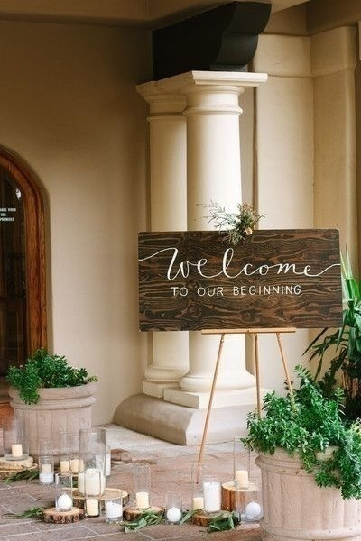 Bring a Western Twist to Indian Wedding Decoration with these Welcome Sign Boards!