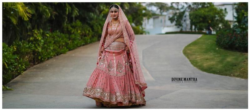 Akshay & Diksha Rayong City : A dreamy Thailand destination wedding with a bride in a unique lehenga!