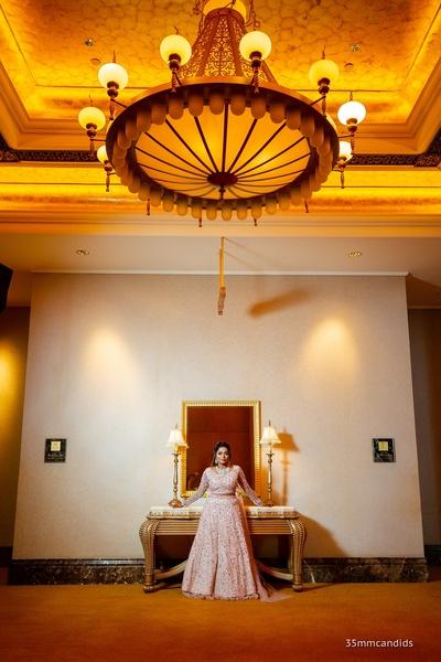 Brinda's bridal portrait