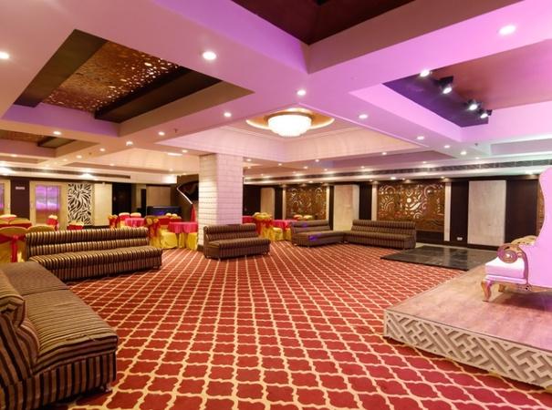 Sam Surya Hotel Rajouri Garden Delhi - Banquet Hall