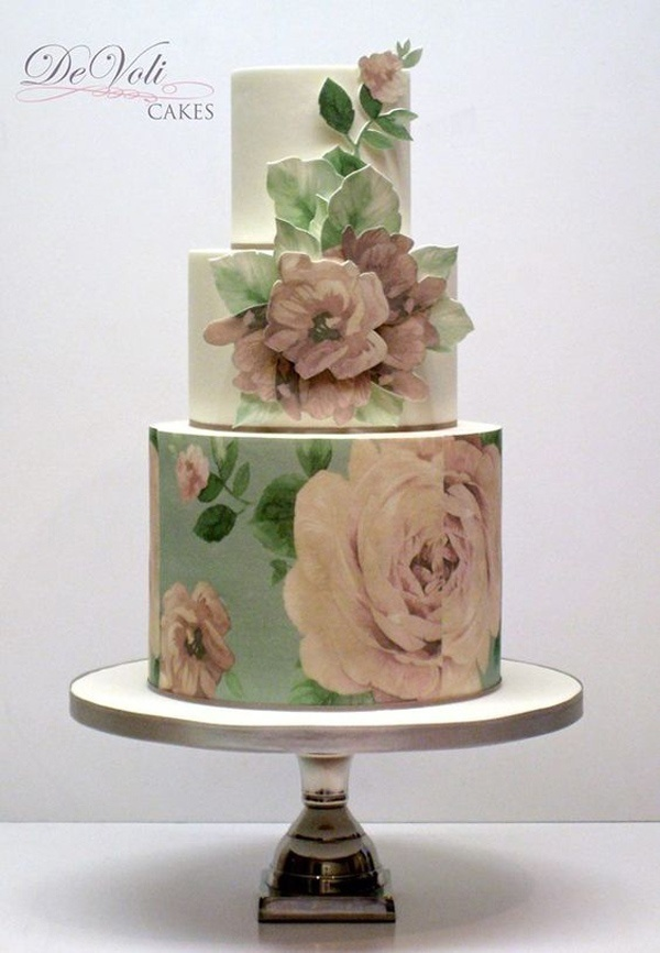 Art Lover's Choice: Painted Wedding Cakes