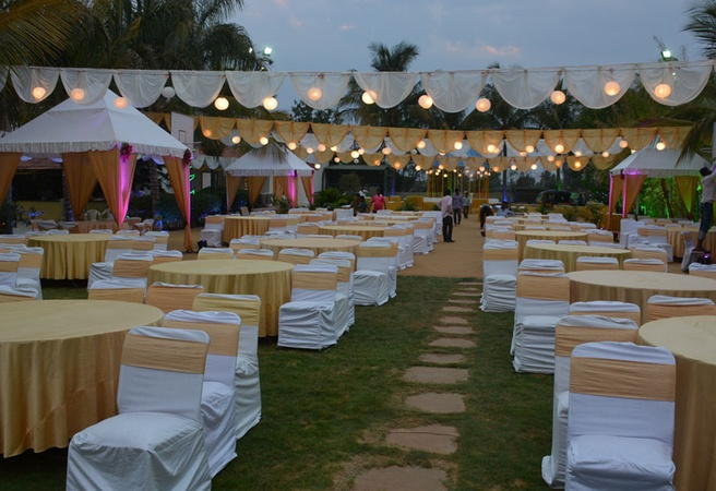 ManaShanthi Resort Shankarpally Hyderabad - Wedding Lawn