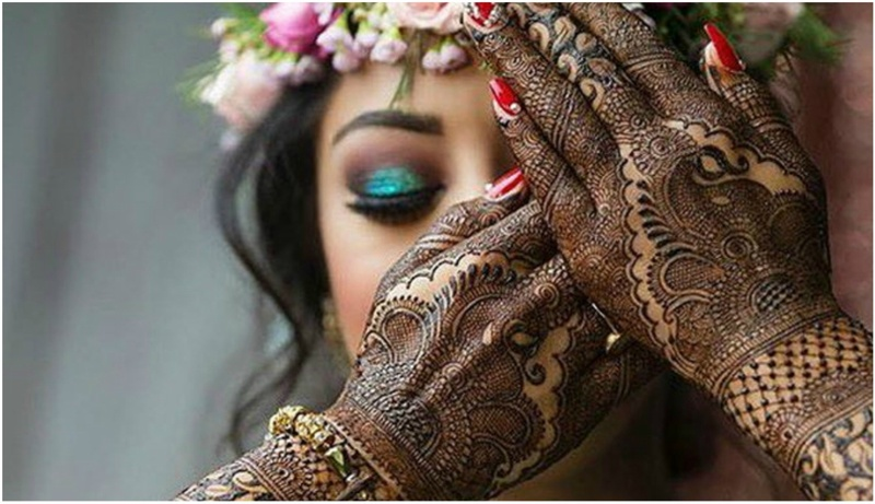 Mehndi Bridal Mehndi Design : Latest mehndi designs for the bride