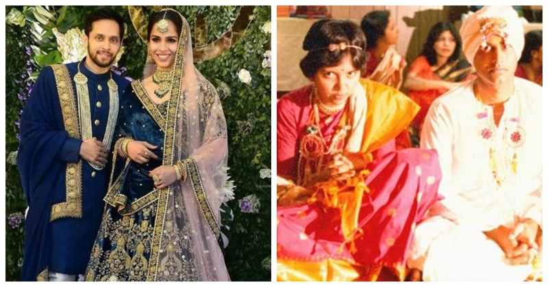 Revisiting the wedding day of some inspiring and successful Indian women! #HappyWomensDay