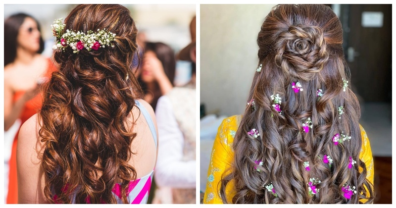10+ Open hairstyles to opt from for your mehendi ceremony!