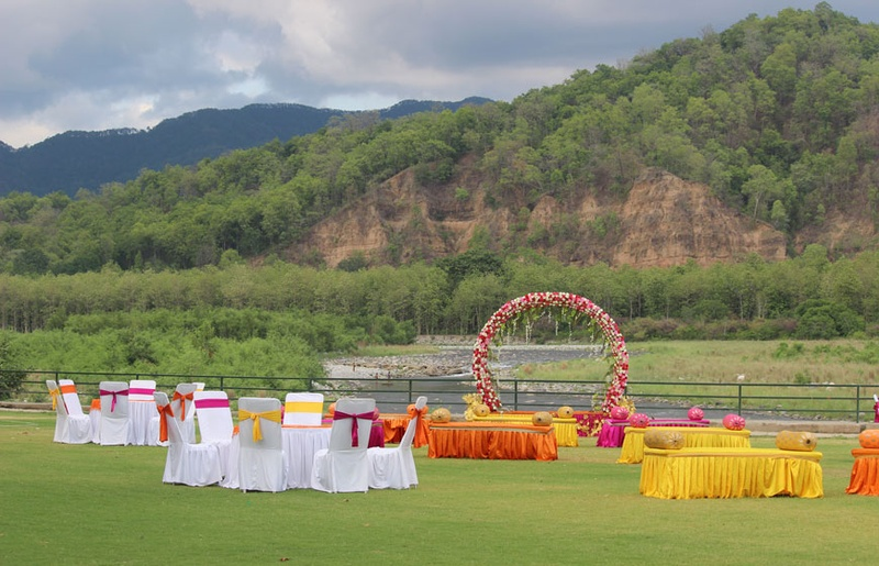Outdoor Wedding Venues in Lonavala to Plan Out a Rustic Countryside Ceremony