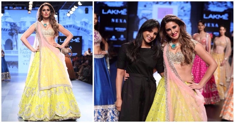 Anushree Reddy's New Bridal Collection Features Nargis Fakhri And It Is So Damn Gorg! (Lakme Fashion Week W/F 2017)