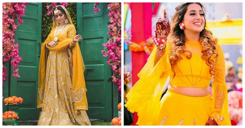 8 Vibrant Yellow Lehengas for the Haldi Ceremony
