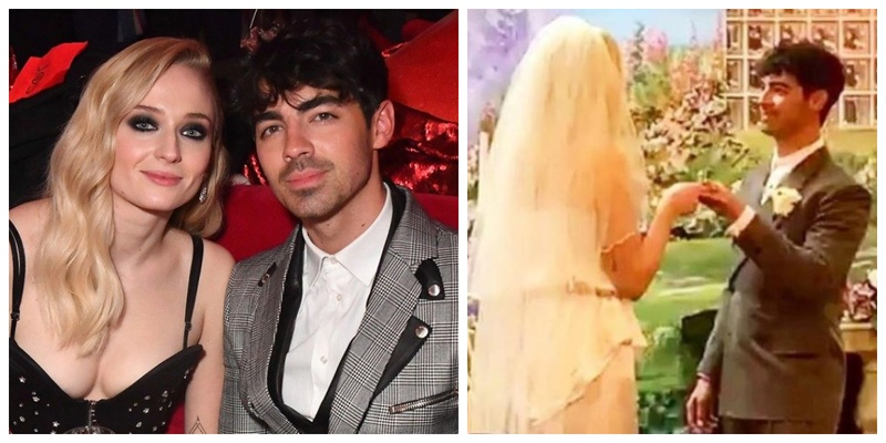 Sophie Turner and Joe Jonas had the most Glam Vegas Wedding ever and I totally can't keep calm!