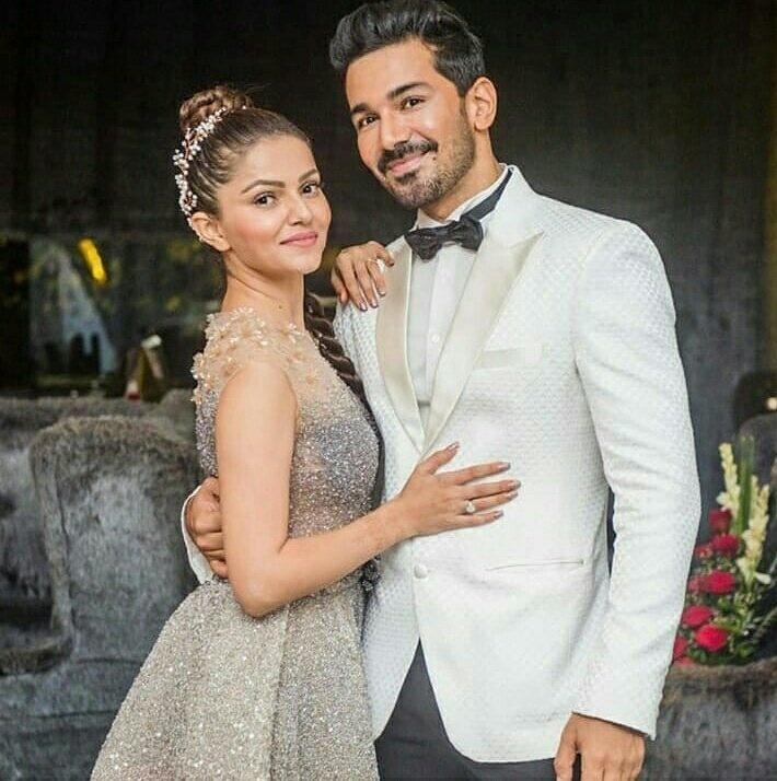 Rubina Dilaik and Abhinav Shukla held a grand reception in
