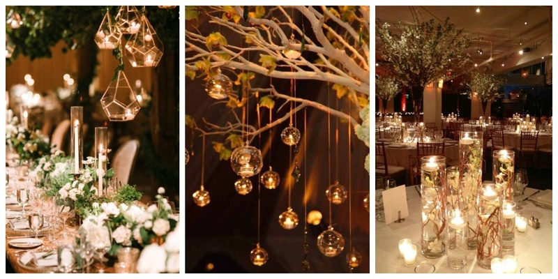 7 incredible candle decor ideas for your 2018 Wedding!