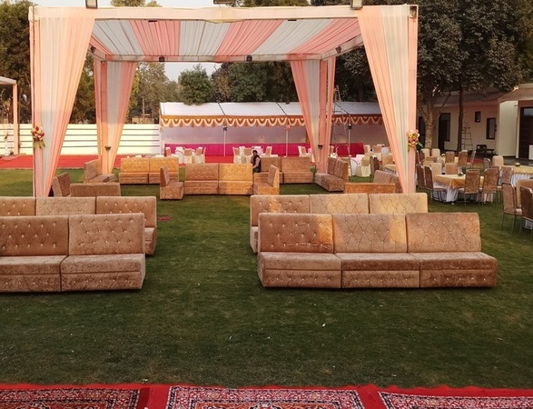 Dream Villa Resorts Barang Bhubaneswar - Wedding Lawn