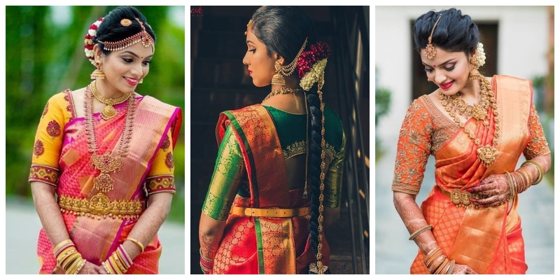 The most beautiful & unique kamarbandhs we spotted on real brides!