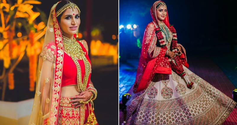 Wedding Lehenga Colours to opt for your Night Wedding!