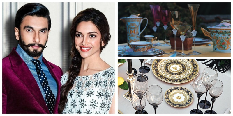 From Versace cutlery to exclusive recipes, Deepika Padukone and Ranveer Singh's wedding will be an affair to remember!