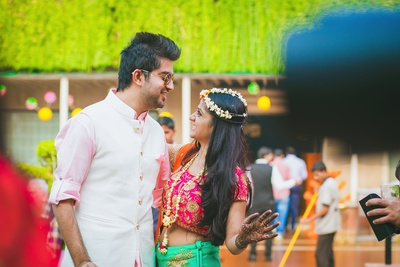 Cutest couple candid photography by Art Capture Productions.