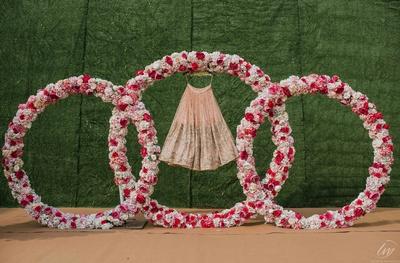 Chandni wore this beautiful lehenga at her Sikh wedding.