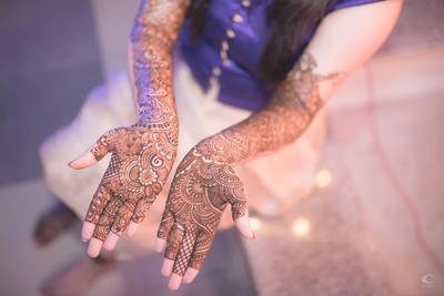 Bridal mehendi design ideas
