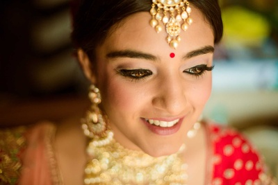 The beautiful bride, Ashna getting ready for her wedding!