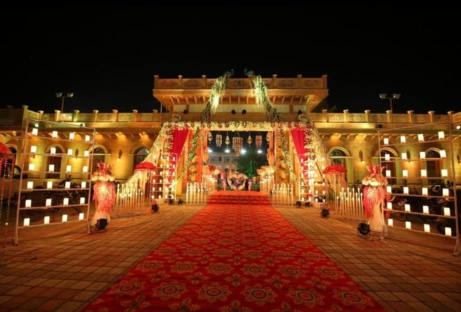 Shree Rooplaxmi Castles Hotel and Garden Jhotwara Jaipur - Banquet Hall