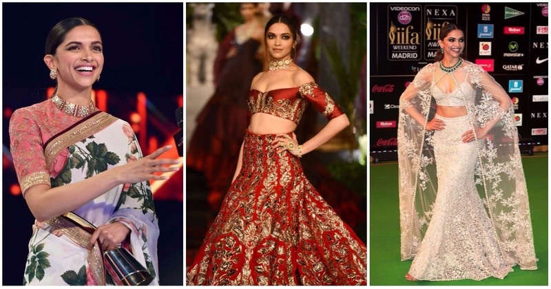 14 Ah-Mazing Deepika Padukone Blouse Designs To Steal For Your Own Lehenga or Saree!