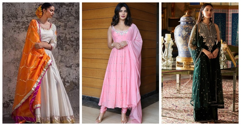 8 Gorgeous Outfit Inspirations for your First Karva Chauth