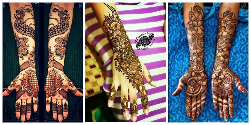Best Arabic Bridal Mehndi designs for Indian Weddings!