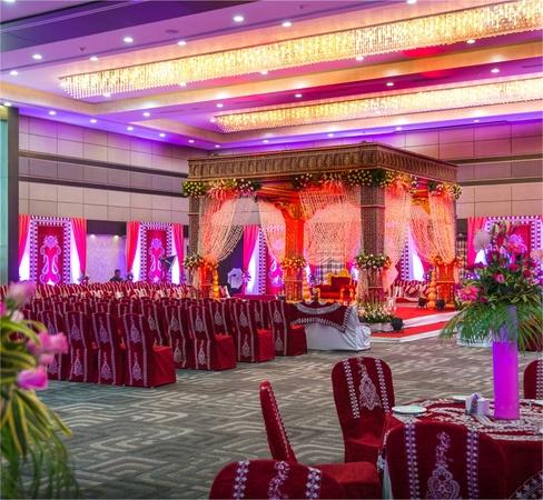 Narayani Heights Bhat Ahmedabad - Banquet Hall