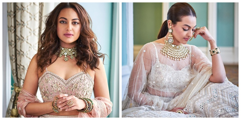 Girls, slay your bridesmaid look a la Sonakshi Sinha style!
