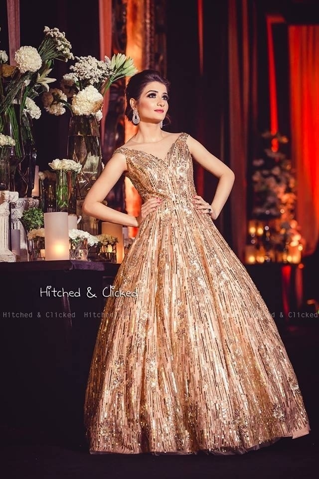 9e49c0eb92f48 Top 10 Indo Western Outfits and Gowns for your 2018 Cocktail Party ...