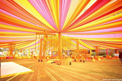 Vibrant colorful indian wedding decor ideas