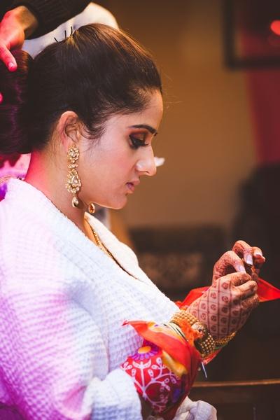 Bridal Makeup by Medha Arora.