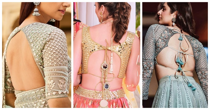 20 Blouse Design Ideas that are going to be major trendsetters this upcoming Indian Wedding Season!